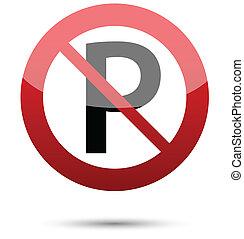 σήμα , απαγορεύεται το παρκάρισμα