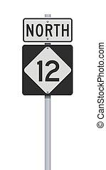 σήμα , δρόμοs , βόρεια carolina , εθνική οδόs