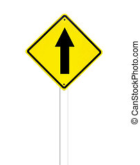 σήμα , κυκλοφορία , πηγαίνω , ευθεία , άσπρο