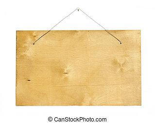 σήμα , ξύλο