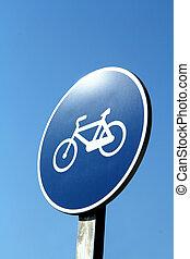 σήμα , ουρανόs , ποδήλατο