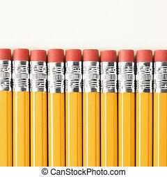 σειρά , pencils.