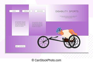 σελίδα , ιστός , αγώνισμα , αναπηρία