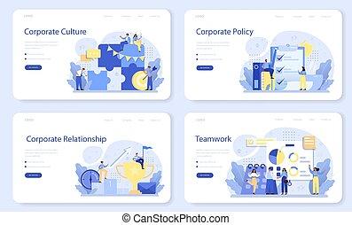 σελίδα , set., μόρφωση , προσγείωση , εταιρικός , ιστός , σημαία , ή , relations.