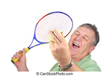 σερβίρισμα , μπαλάκι του τέννις