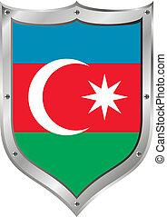 σημαία , αζερμπαϊτζάν , button.