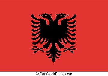 σημαία , αλβανία