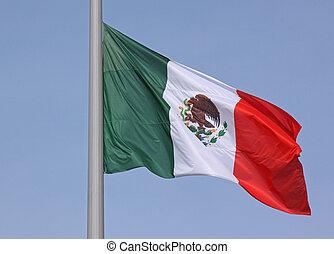 σημαία , από , μεξικό