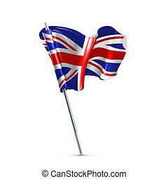 σημαία , από , ο , ηνωμένο βασίλειο