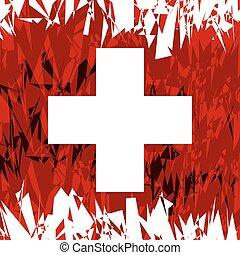 σημαία , από , switzerland.