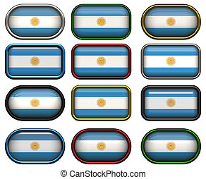 σημαία , δώδεκα , αργεντινή , κουμπιά