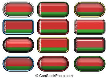 σημαία , δώδεκα , belarus , κουμπιά