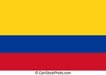 σημαία , εθνικός , κολομβία