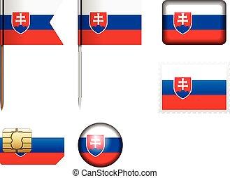 σημαία , θέτω , slovakia