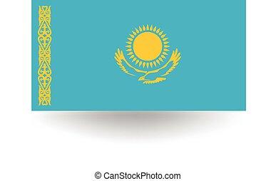 σημαία , καζακστάν