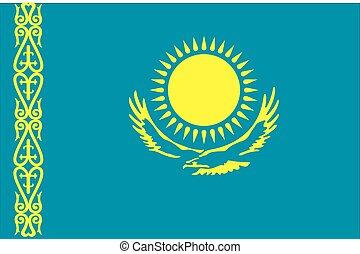 σημαία , καζακστάν , εικόνα