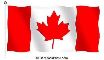 σημαία , καναδικός
