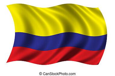 σημαία , κολομβία