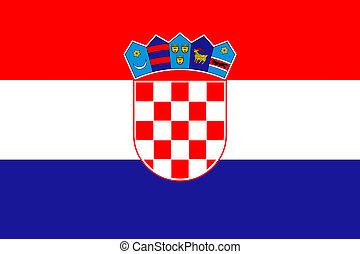 σημαία , κροατία