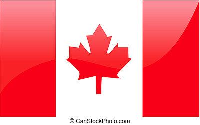 σημαία , μικροβιοφορέας , εικόνα , καναδικός