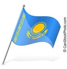 σημαία , μικροβιοφορέας , καζακστάν , εικόνα