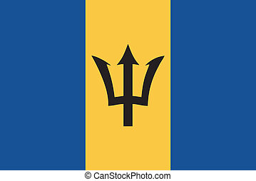 σημαία , μικροβιοφορέας , barbados , εικόνα