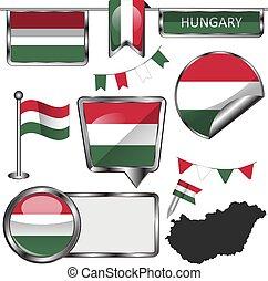 σημαία , ουγγαρία