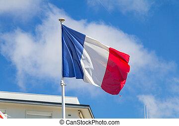 σημαία , ουρανόs , γαλλίδα