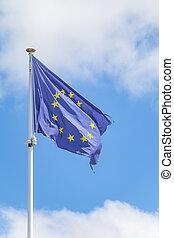 σημαία , ουρανόs , ευρωπαϊκός