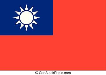 σημαία , ταϊβάν