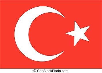 σημαία , τούρκικος