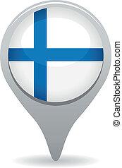 σημαία , φινλανδία , δείκτης