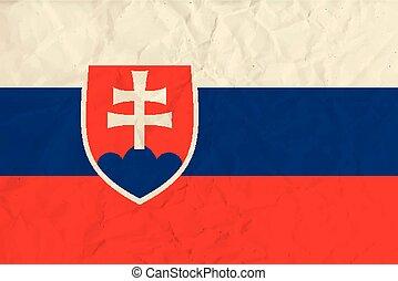 σημαία , χαρτί , slovakia