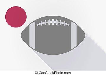 σημαία , balloon, σκιά , μακριά , ποδόσφαιρο , ιαπωνία , αμερικανός