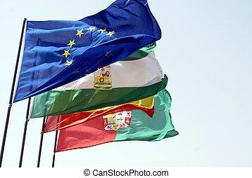 σημαία , europe., σημαίες