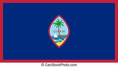 σημαία , guam