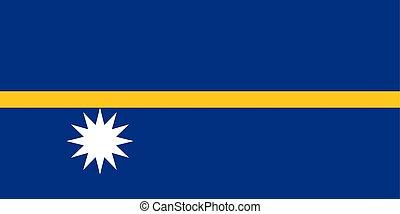 σημαία , nauru