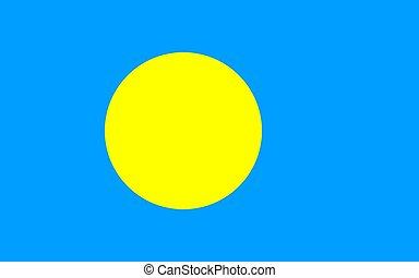σημαία , palau