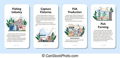 σημαία , set., αιχμαλωτίζω , αλιεία , αίτηση , κινητός , ψάρεμα , βιομηχανικός