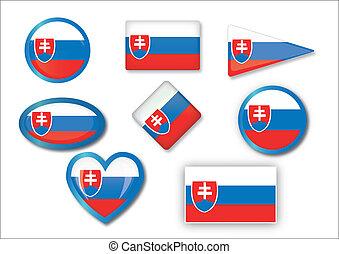 σημαία , slovakia