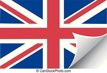σημαία , vectors, βρεταννίδα , εικόνα