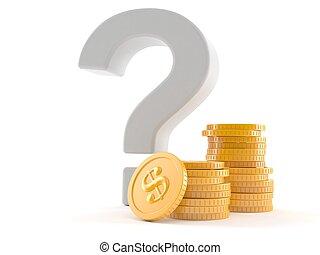 σημαδεύω , ερώτηση , θημωνιά , κέρματα