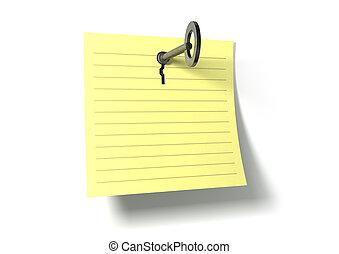 σημείωση , βασικός τόνος , κλειδί
