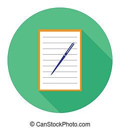 σημειωματάριο , εικόνα