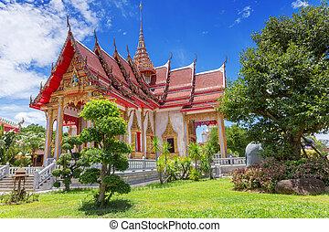 σιάμ , κρόταφος , phuket , chalong