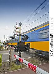 σιδηροδρομικό δίκτυο διάβαση