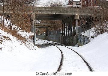 σιδηρόδρομος , γέφυρα