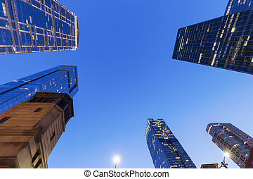 σικάγο , αρχιτεκτονική , νύκτα