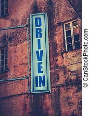 σινεμά αυτοκινήτων , θέατρο , σήμα