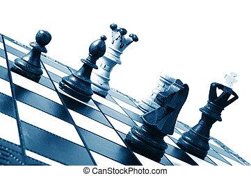 σκάκι , αγώνας